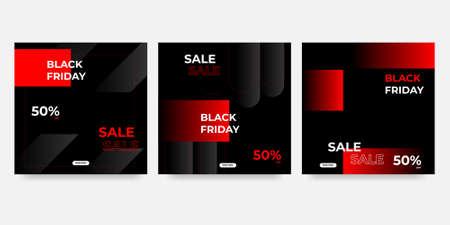 Template black friday sale vector illustration