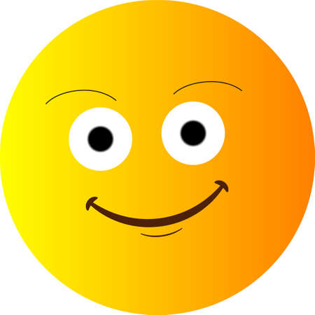 Smile Yellow face Vector Happy vector yellow face. Vector illustration happy circle face. for website design, logo, app and ui. EPS10 Logo