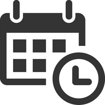calendar icon in trendy flat style isolated on white background. for your web site design, logo, app, UI. Vector illustration, EPS10.