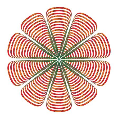 straight lines: flower