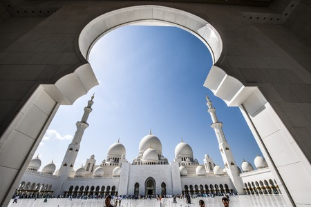 sheikh zayed mosque: Sheikh Zayed Mosque Editorial