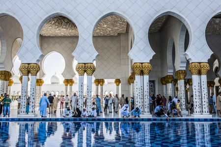 abudhabi: Sheikh Zayed Grand Mosque in Abu Dhabi