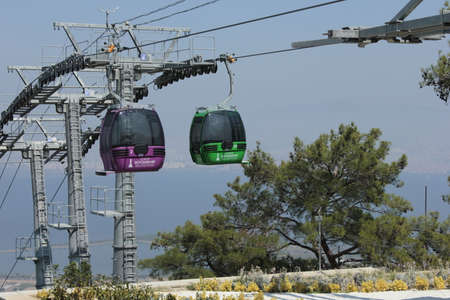 cable car: cable car Editorial
