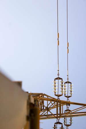 electricity pole: electricity pole