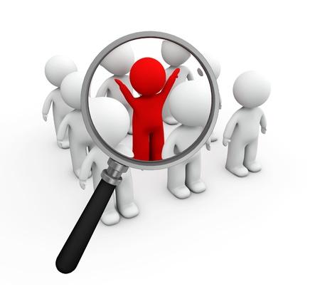 ressources humaines: 3d petite recherche d'emploi des personnes