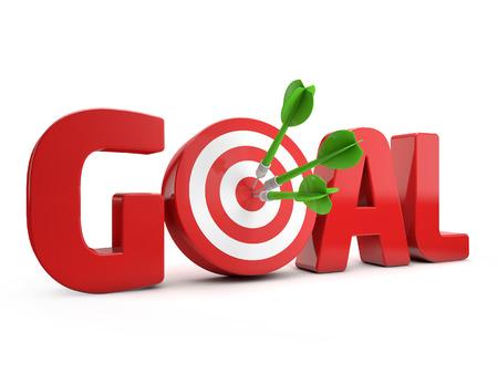 target goal Stock Photo