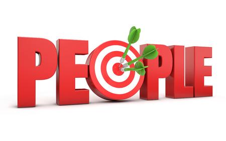 focus group: 3d target people