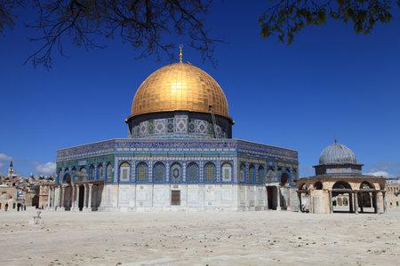 The Masjid Aksa in Jerusalem