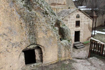 Sivisli Church is located in the Guzelyurt district of Aksaray. The church was built by carving the rocks. It contains historical wall paintings. Editorial
