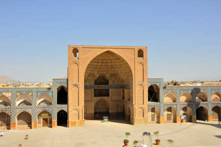 The Isfahan Grand Mosque was built in 771. In the following years, additional sections were made to the mosque. The mosque is on the Unesco world heritage list. Stock fotó - 150571835