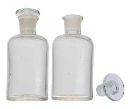 old pharmacy bottle
