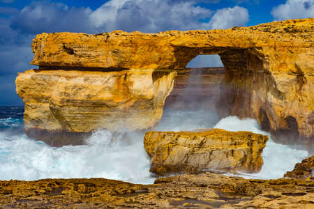 Azure Window Felsformation Insel Gozo Malta