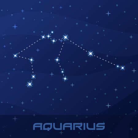 Constellation Aquarius, Astrological sign