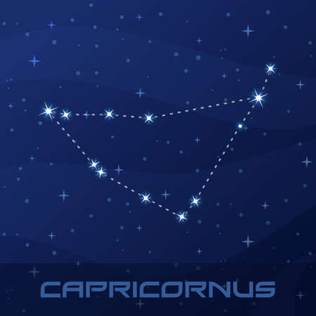 Constellation Capricornus, Capricorn, Astrological sign