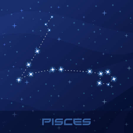 Constellation Pisces, Astrological sign