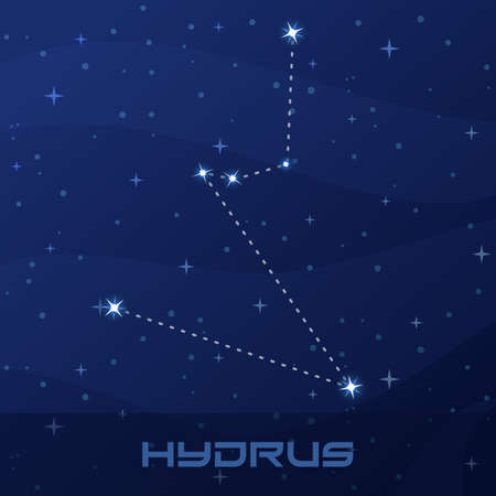Constellation Hydrus, Water Snake