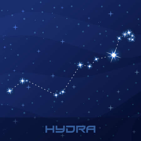 Constellation Hydra, Water Snake