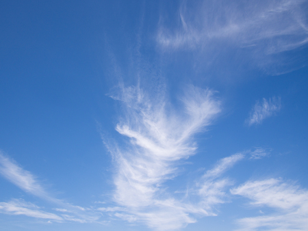 skyscapes: cloud with blue sky background