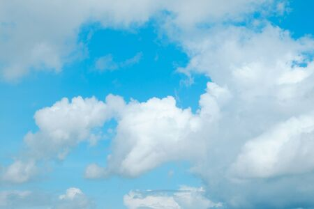soft cloud with blue sky for backdrop background Stock Photo