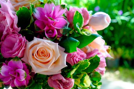 colorful flower bouquet Banco de Imagens