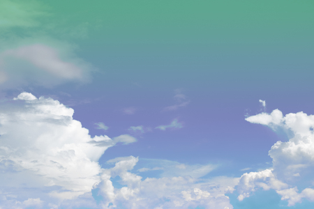 soft cloud and sky with pastel gradient color for background backdrop