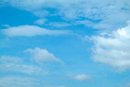 blue sky with cloud for backdrop Reklamní fotografie - 135477344