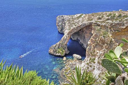 The Blue Grotto in Malta, the Blue Grotto in Malta