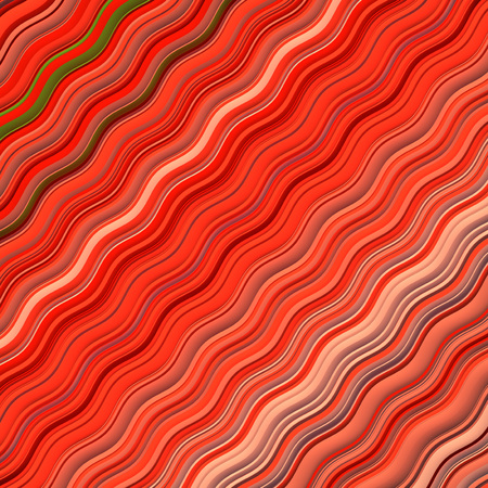 Red colored Wavy Background. Abstract Dynamic Effect. Design Template. Modern Pattern. 3d rendering