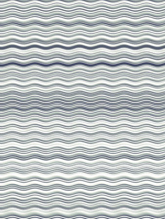Gray colored horizontal Wavy Background. Abstract Dynamic Effect. Design Template. Modern Pattern. 3d rendering Imagens