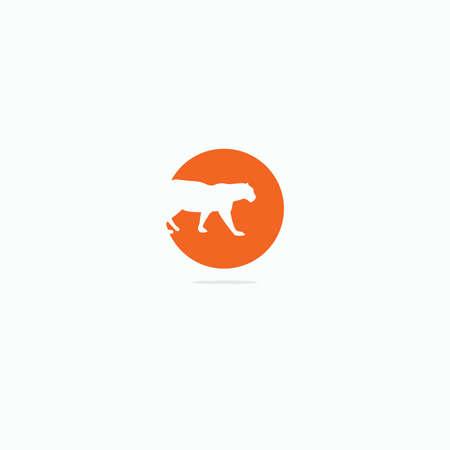 Panther vector logo design.