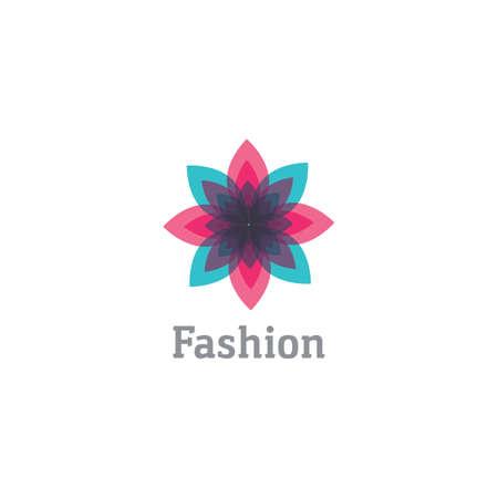 flower design vector for spa boutique beauty salon cosmetician shop