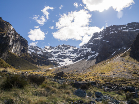 newzealand: Mountains in New-Zealand South Island Stock Photo