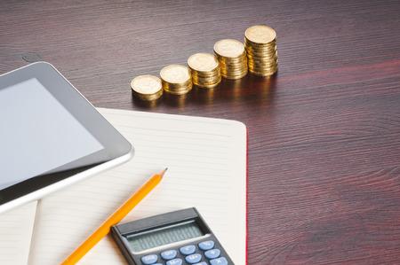 Financial accounting Stockfoto