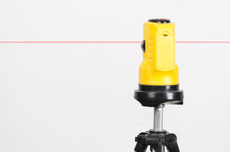 Laser Level and the line on the wall