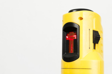 theodolite: Construction Laser Level Stock Photo