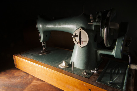 sewing machines: Old sewing machine