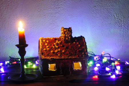 Gingerbread house for Christmas