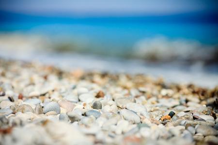 pebble beach: pebble beach Stock Photo