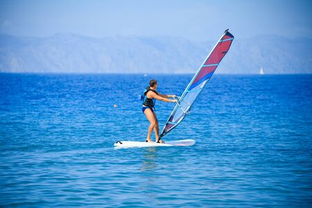 windsurfing: windsurf  Editorial