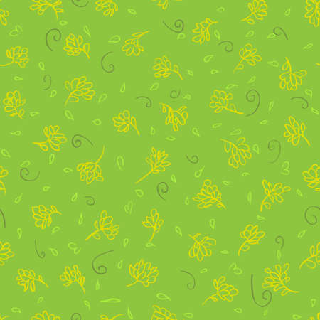 patern: green seamless floral patern