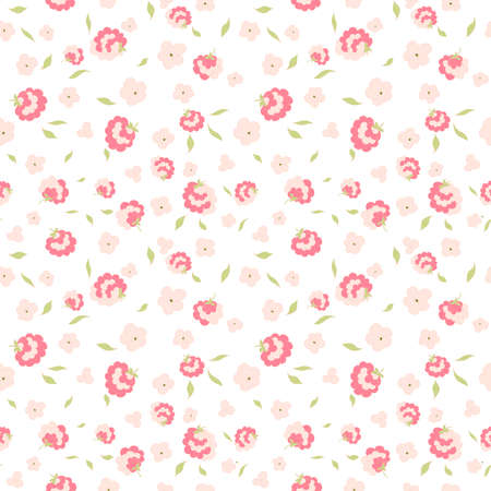 cute little flowers seamless pattern Reklamní fotografie - 33465051