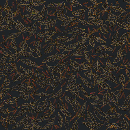 fallen: fallen leaves pattern