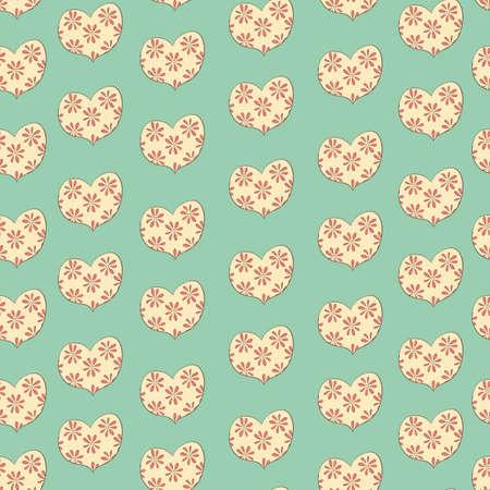 floret: heart in a floret