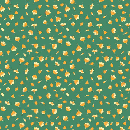 tiny: seamless summer tiny floral pattern