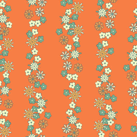 romantic: light background romantic floral seamless pattern