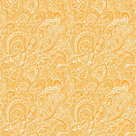 paisley seamless pattern: Paisley Seamless Pattern Illustration