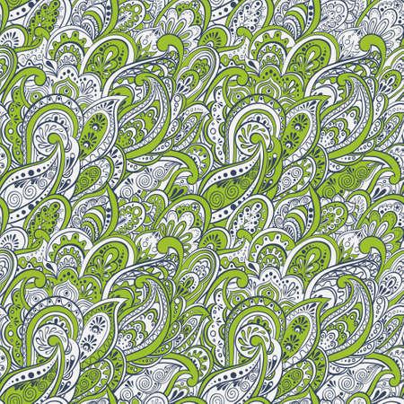 paisley seamless pattern: colorful paisley seamless pattern Illustration