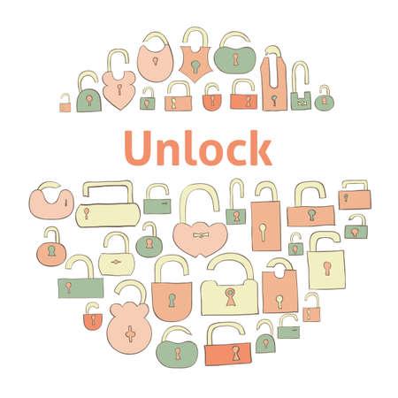 prison system: closed locks