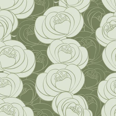 textil: floral seamless pattern Illustration