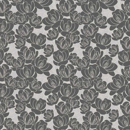 seamless pattern: floral seamless pattern Illustration